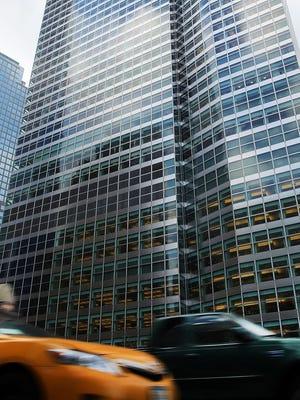 Investment bank Goldman Sachs' New York City headquarters in Manhattan.