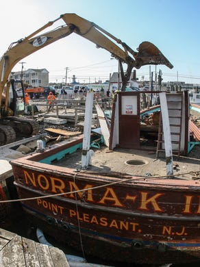 Pt Pleasant Beach Party Boat Norma K Ii Laid To Rest