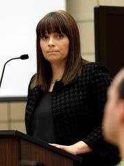 Assistant Johnson County Attorney Naeda Elliott