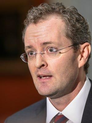 Blake Brickman was chief of staff for former Kentucky Gov. Matt Bevin.