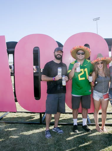 Tacos and fun were on hand in equal measure at the Arizona Taco Festival at Salt River Fields at Talking Stick on Saturday, Oct. 14, 2017.