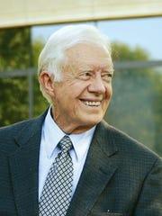 "Jimmy Carter, author of ""Faith: A Journey for All"""