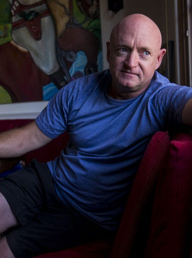 Life as an astronaut was scheduled to the minute for Mark Kelly. But that changed when his wife, Gabby Giffords, was shot outside a Tucson-area Safeway in 2011.