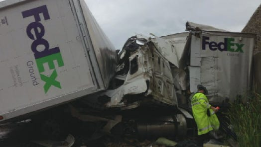 A Phoenix truck driver died after a fatal crash in Missouri.