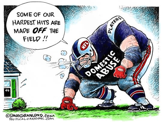 Domestic violence in NFL.