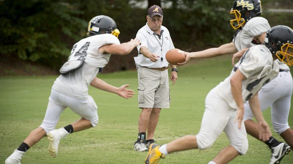 David Gentry is the winningest football coach in Western North Carolina history and has asked the NCHSAA Board of Directors to take action on nontraditional schools in the state association.