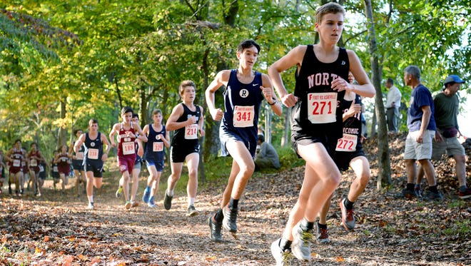 Runners compete in the 2016 Mountain Athletic Conference cross country meet at Asheville Christian Academy. ACA will host a cross country camp in July.