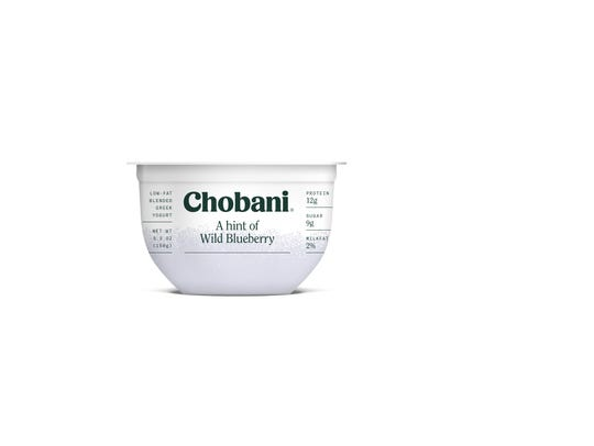 Chobani A Hint of Yogurt is assorted flavors.