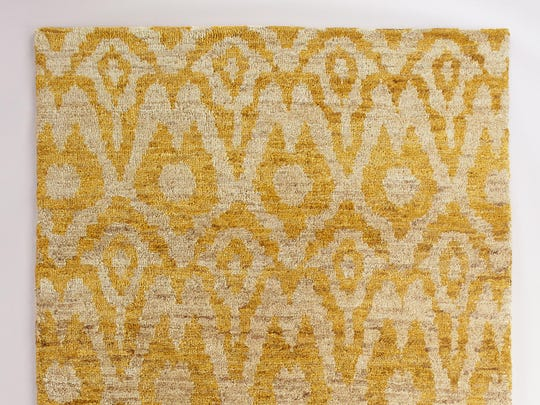 I still love a chevron stripe, and lately I'm feeling a trellis or quatrefoil pattern, but I'll always groove on an ikat. Especially in this 6-by-9 foot sunny jute pile rug, which will give your living room a vintagey-boho vibe. $479.99, World Market, Nashville West shopping center, 6728 Charlotte Pike, Nashville. www.worldmarket.com; 615-356-0160