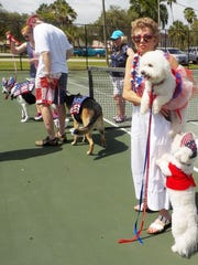 A new contest has been added to the annual Independence Day celebration in historic Everglades City. Trophies will be given for canine friends who show their patriotism at 11 a.m. on Saturday, July 2, after the Grande Parade, which winds its way around Everglades City at 10:30 a.m., followed by an arts and crafts sale, kiddies' contests, raffle, and great food for lunch. Call Marya at 239-695-2905 or see evergladeshistorical.org.