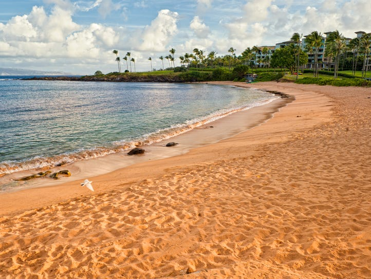 Kapalua Bay Beach in Maui, Hawaii, is the USA's best