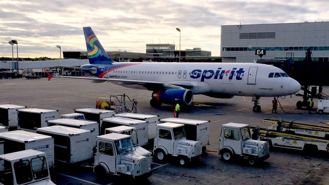 if you want to sit with a friend or your family on Spirit — you know, choose your seat — be prepared to pay from $1 to $50 per seat assignment; otherwise, seats are assigned randomly.