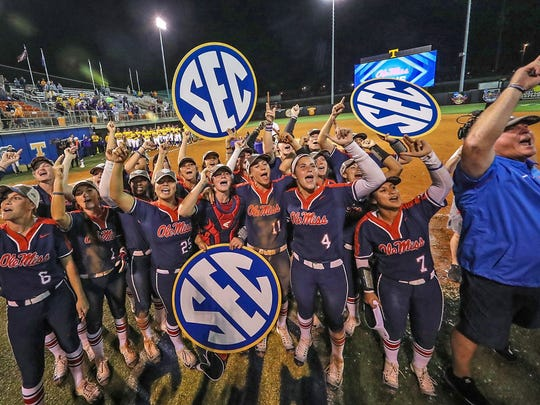 Ole Miss won its first SEC title in softball in 2017.