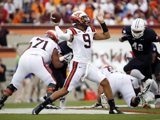 NCAA Football: Furman at Virginia Tech