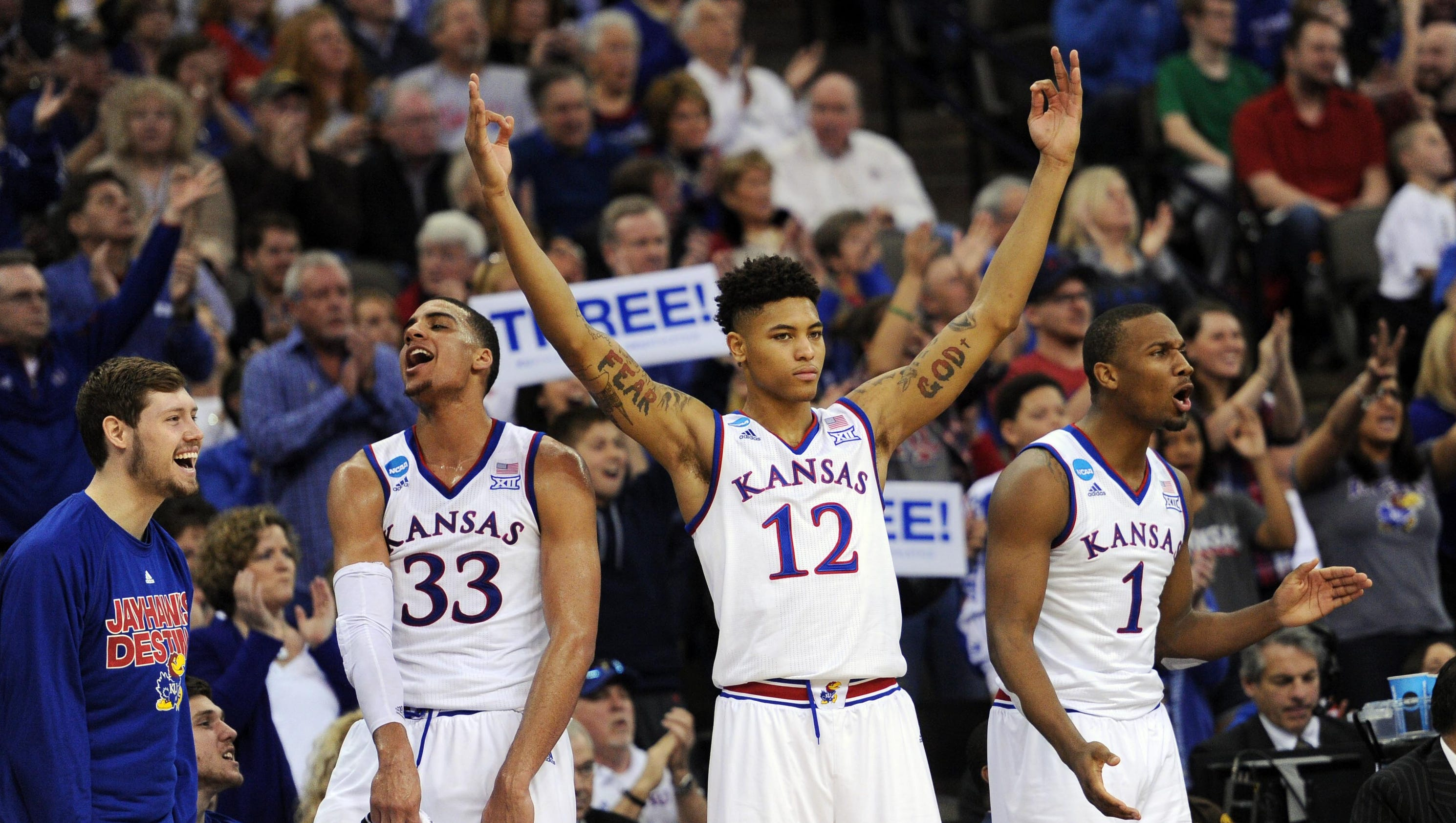 NCAA tournament schedule: Sunday's March Madness times, TV guide