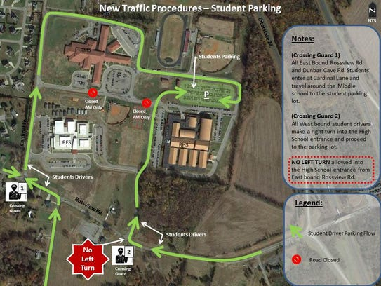 Student driver map