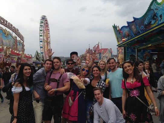 Josh Zvibleman studied abroad in Barcelona this past