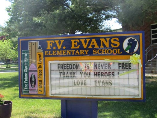 F.V. Evans Elementary School in Marlton may be closed