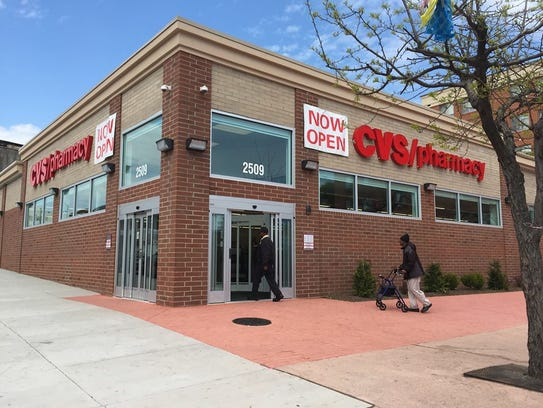 This CVS store in West Baltimore reopened in March
