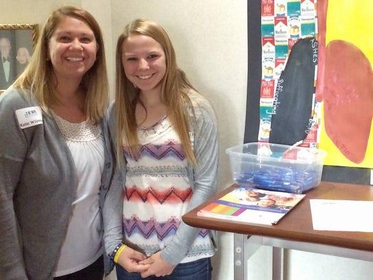 Diana Hendrickson, FACT student, and Katie Wilsmann,