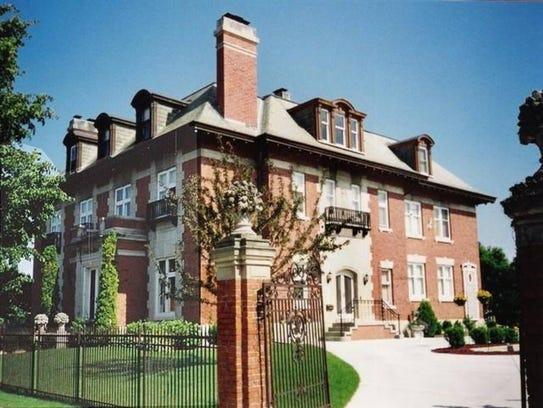 John Peter Reiss mansion, 311 St. Clair Avenue, seen