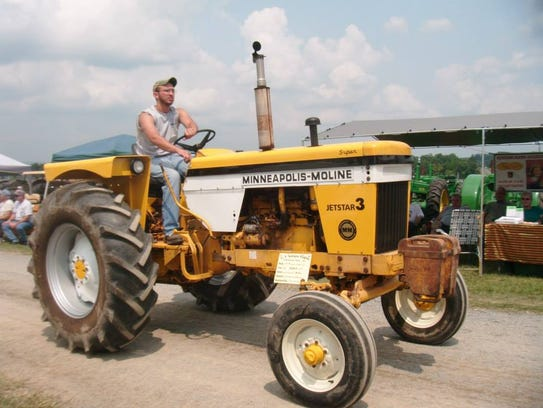 Gearheads will thrill at the array of vintage machinery