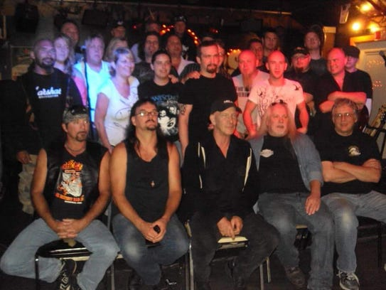 Musicians assembled for the 30th anniversary of Jam