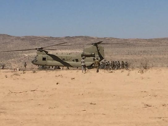 Task Force Iron Dragon's Downed Aircraft Recovery Team