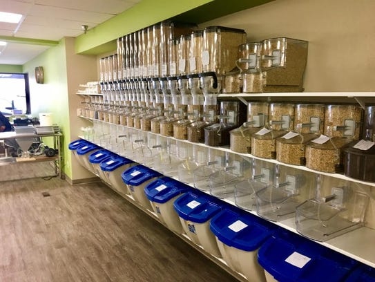 """The Hop Shop features a """"grain wall"""" with over 57 varieties"""