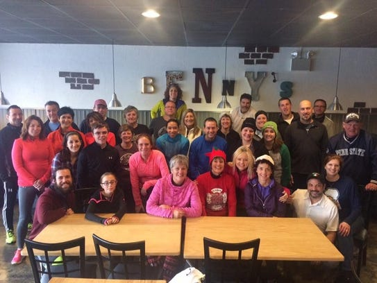 The Chambersburg Beer Runners participated in a holiday