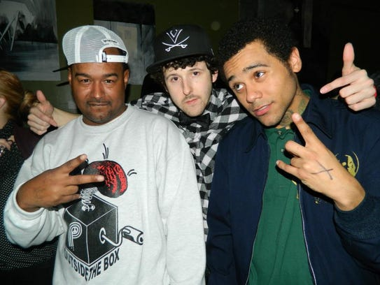 Left to right: Skillz, Andrew Hypes and Joel Robinson.