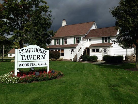 The Stage House Tavern serves classic American fare.