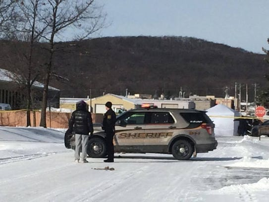 A Marathon County Sheriff's deputy was involved in