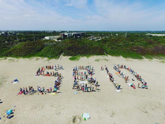 Conservation group Citizens for Clean Water spell out