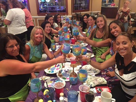Tipsy Painting Party will guide you through creating