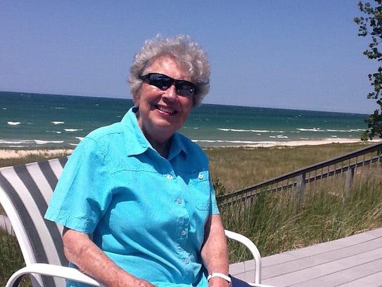 Maryan Dantonio, 89, described her son Mark (MSU's