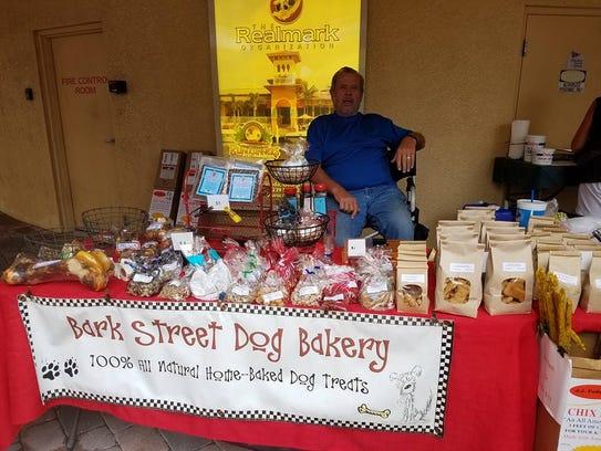 Bark Street Dog Bakery features over 50 handmade, all