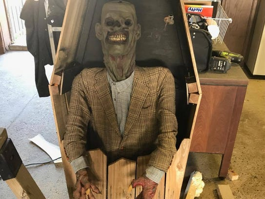 There will be plenty of spooky props at the Haunted
