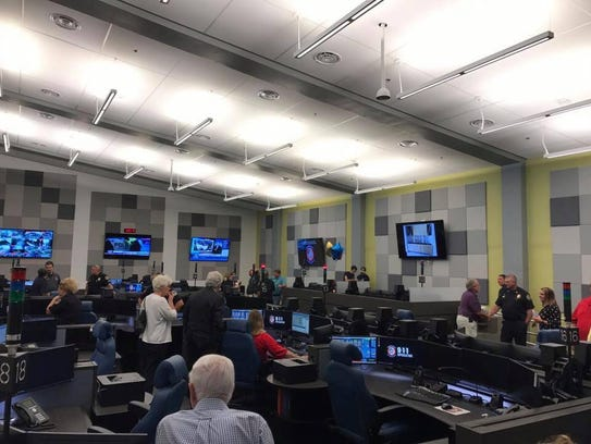 The Sumner County Emergency Communications Center features