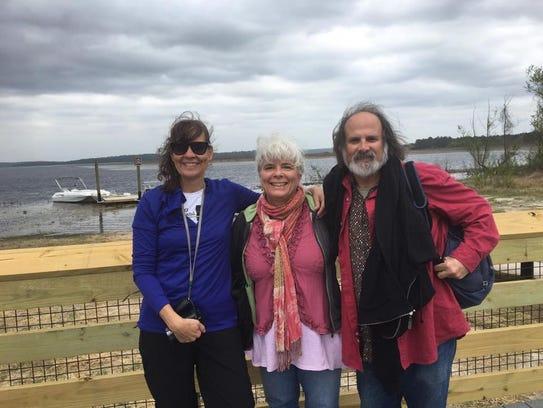 Terri Carrion, Lisa Vihos and Michael Rothenberg at