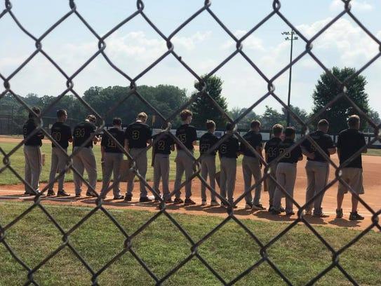 The Stewart County baseball team played against Bartlett