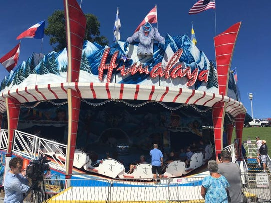 The Himalaya, seen at the Williamson County Fair on