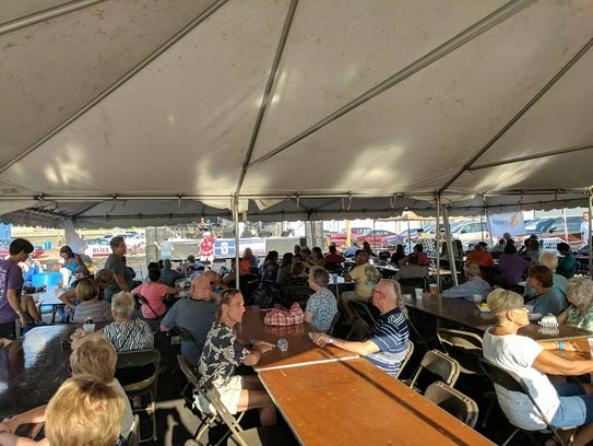 More than 500 people attended the Fremont Rotary Club's