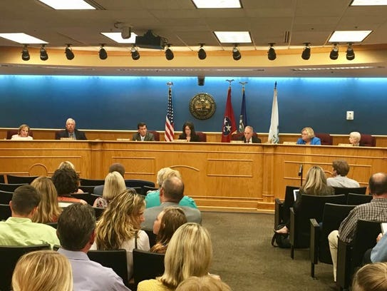 Brentwood City Commission begins its meeting on Aug.