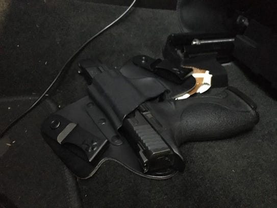 The Kitsap County Sheriff's Office uncovered guns,
