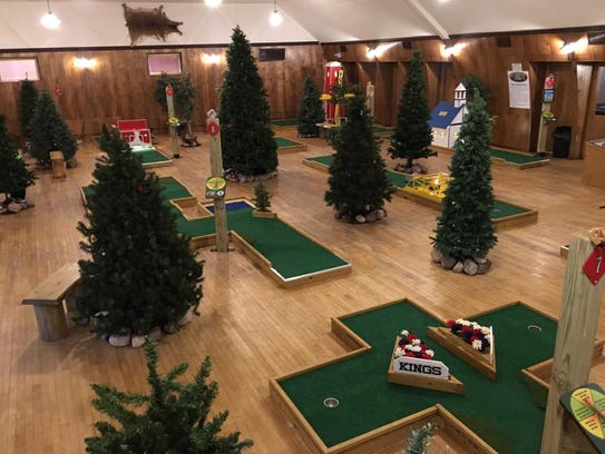 Putt-N-Play, a new indoor miniature golf business in