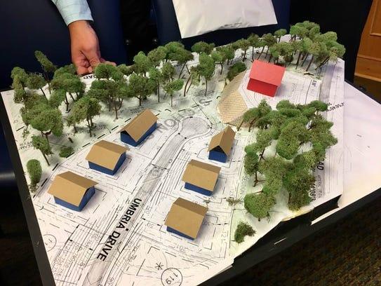Tuscany Hills resident Shaun Larson created a rendering