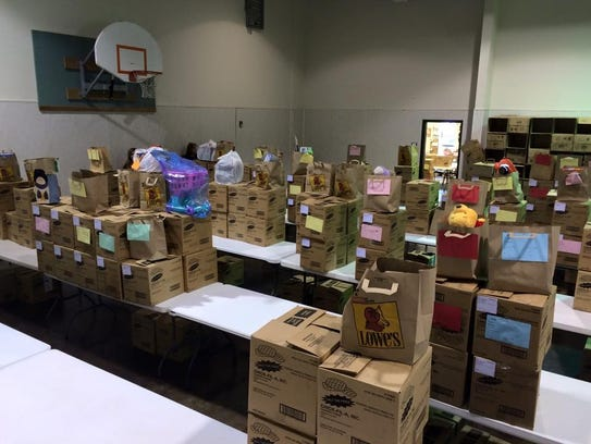 San Angelo Christmas Boxes help families whose children