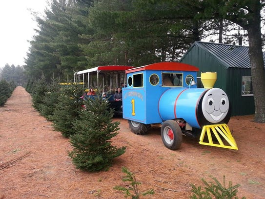 Holiday Creek Tree Farm is located at 438 Wisconsin