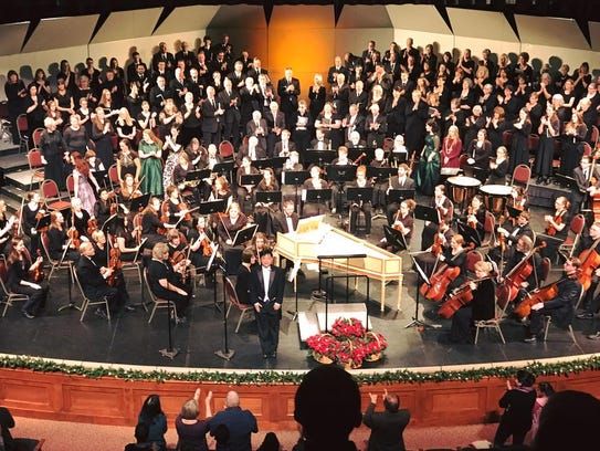 Orchestra of Southern Utah and Messiah Chorus